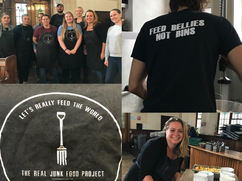Proco+ Day at The Real Junk Food Project