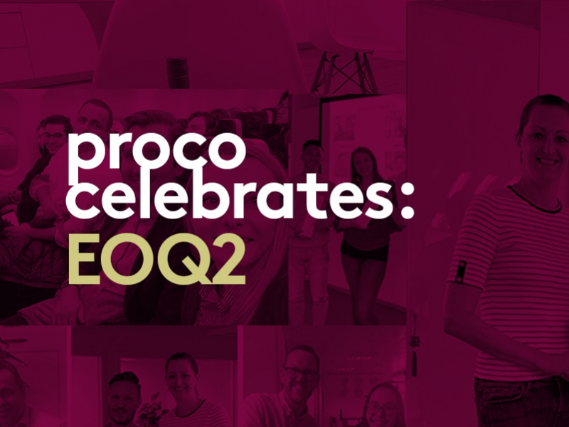 End of quarter celebrations across Proco